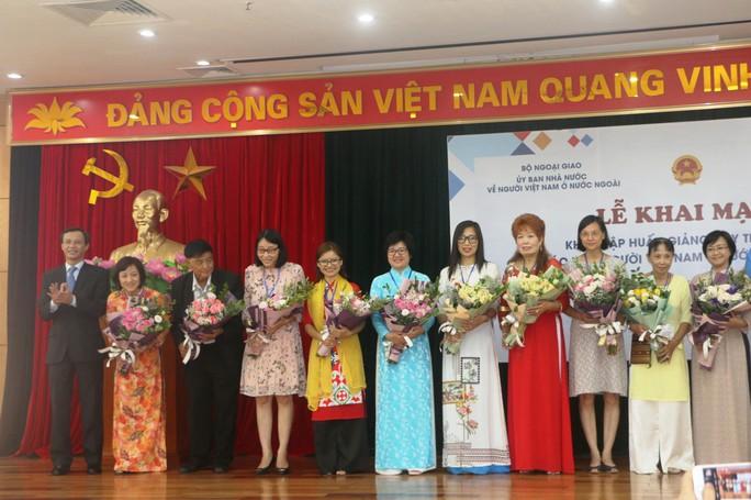 Tập huấn giảng dạy tiếng Việt cho 80 giáo viên người Việt Nam ở nước ngoài - Ảnh 5.