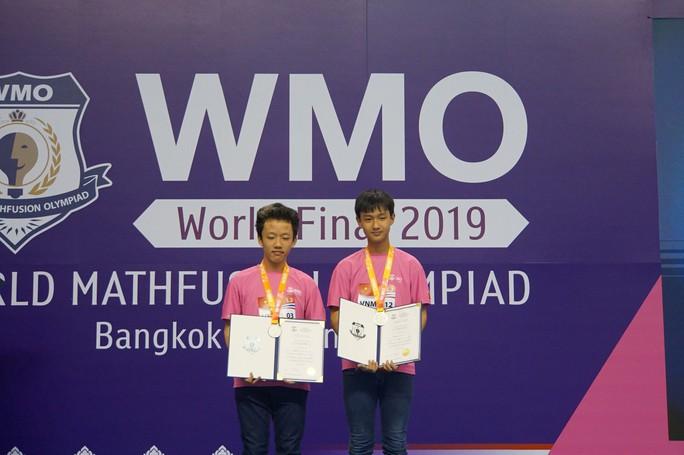 Học sinh Trường THPT chuyên Trần Đại Nghĩa dành 2 HCB cuộc thi toán thế giới - Ảnh 1.