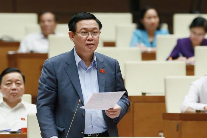 Phó Thủ tướng Vương Đình Huệ cùng 15 bộ trưởng, trưởng ngành trả lời chất vấn tại Ủy ban Thường vụ QH - Ảnh 1.