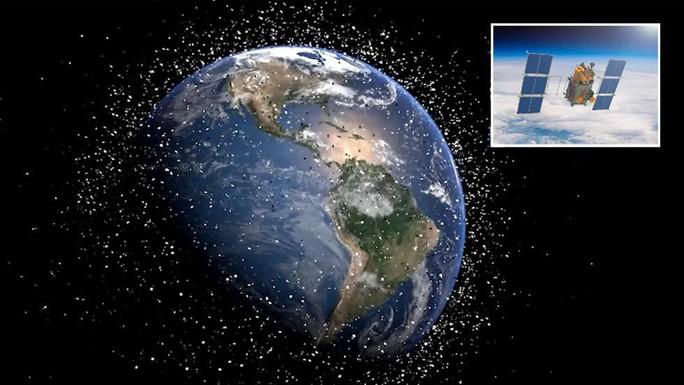 """Nga phát minh vệ tinh tự hủy để giải quyết """"rác thải vũ trụ"""" - Ảnh 1."""