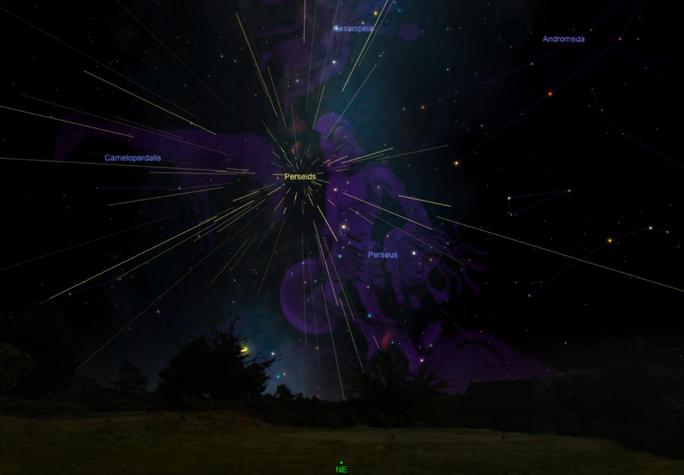 Cách ngắm đêm cực đỉnh của siêu mưa sao băng từ Việt Nam - Ảnh 2.