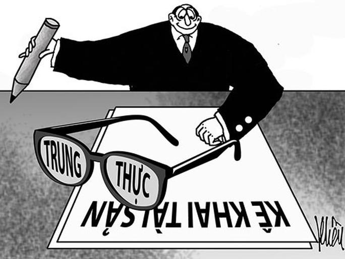 Nhiều trường hợp tẩu tán tài sản tham nhũng trước khi kê khai - Ảnh 1.