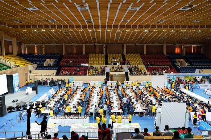7 đội tuyển học sinh Việt Nam tranh tài cuộc thi Robot quốc tế - Ảnh 3.