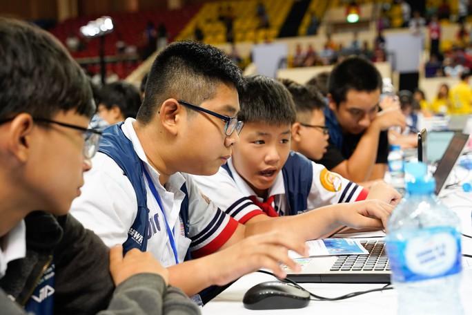 7 đội tuyển học sinh Việt Nam tranh tài cuộc thi Robot quốc tế - Ảnh 1.
