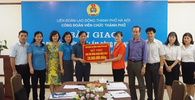 Hà Nội: Thêm một Mái ấm Công đoàn cho đoàn viên khó khăn - Ảnh 1.