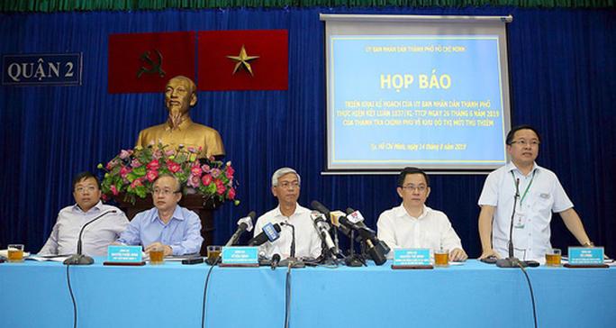 TP HCM thực hiện dứt điểm các nội dung liên quan đến Thủ Thiêm trước 31-12-2019 - Ảnh 1.
