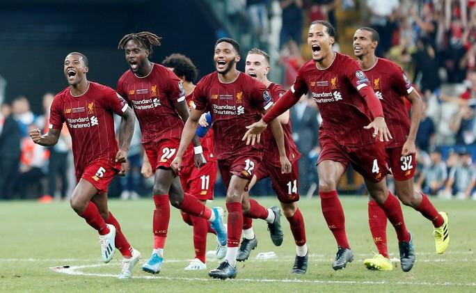 Kép phụ Adrian tỏa sáng, Liverpool đoạt Siêu cúp châu Âu - Ảnh 12.