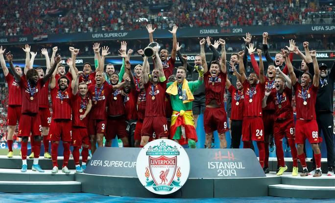 Kép phụ Adrian tỏa sáng, Liverpool đoạt Siêu cúp châu Âu - Ảnh 15.