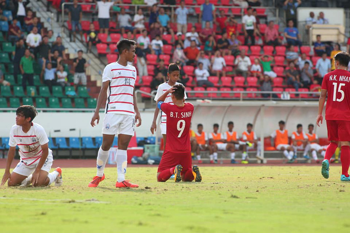 U18 Việt Nam thất bại ê chề - Ảnh 2.