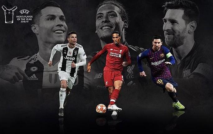 Van Dijk mơ lật đổ Messi, Ronaldo ở FIFA The Best 2019 - Ảnh 1.