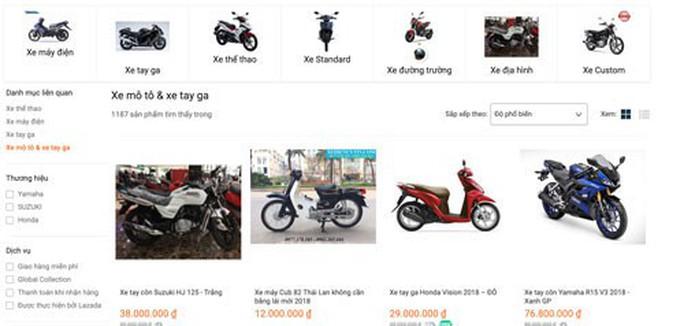 Nở rộ bán xe máy trên mạng - Ảnh 3.