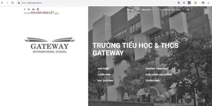 Trường Gateway và nhiều cơ sở giáo dục âm thầm xoá mác quốc tế - Ảnh 1.