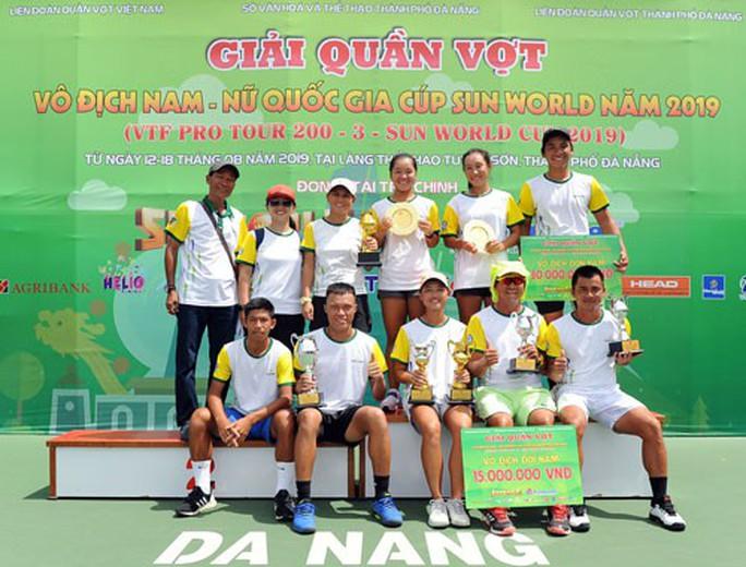 Hạ gục tay vợt trẻ, Minh Tuấn vô địch VTF Pro Tour 200 - Ảnh 1.