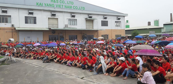 Lãnh đạo mới Công ty KaiYang Việt Nam ra mắt, cam kết thanh toán trước 50% tiền lương tháng 7-2019 - Ảnh 1.
