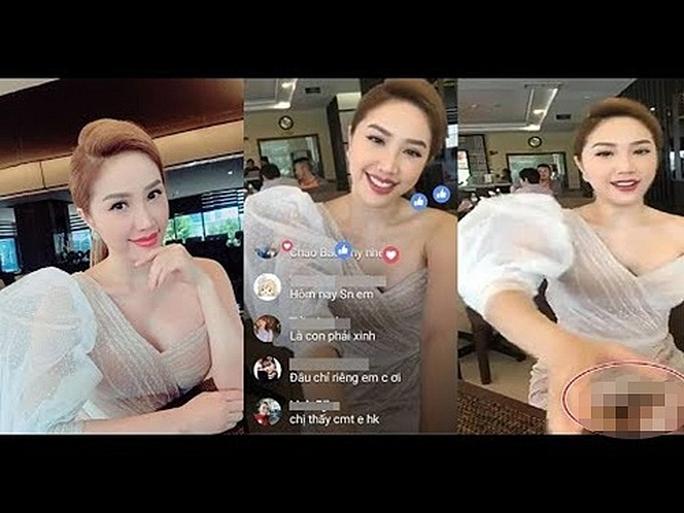 Sao Việt muối mặt với sự cố livestream - Ảnh 2.