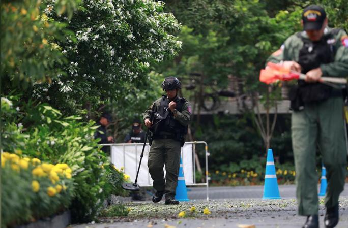 Đánh bom ở Bangkok khi Hội nghị ASEAN diễn ra - Ảnh 1.