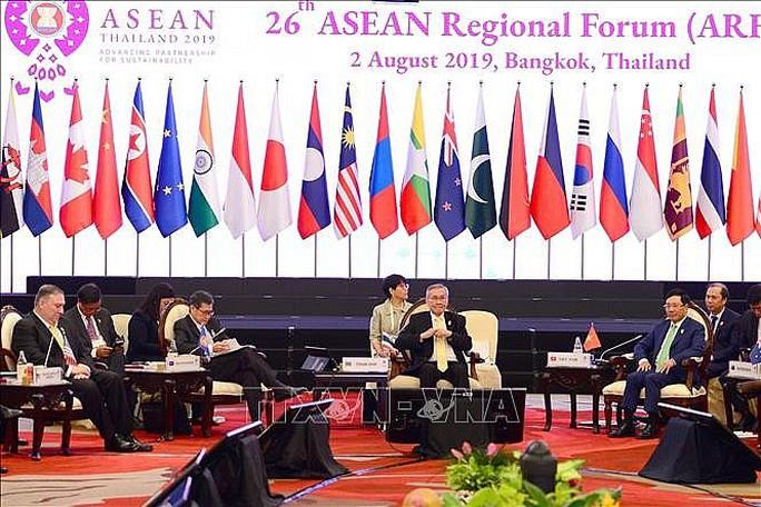 Phó Thủ tướng nêu sự cố nghiêm trọng đang diễn ra ở Biển Đông tại Diễn đàn ARF - Ảnh 1.