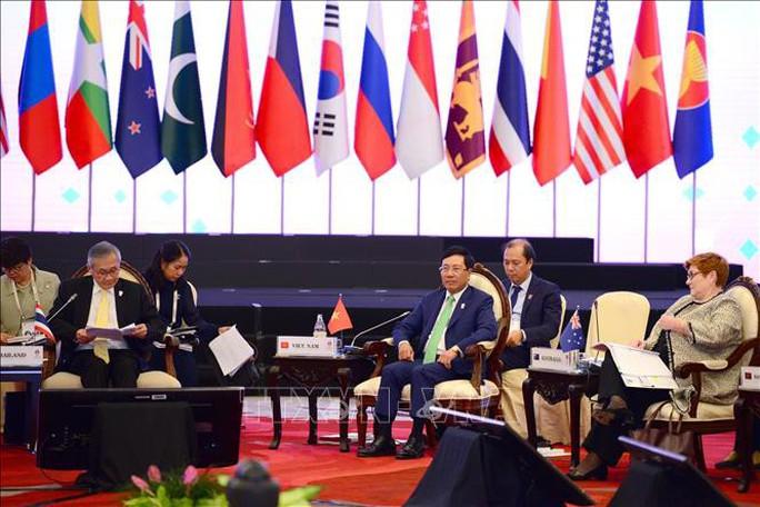 Việt Nam nhấn mạnh lập trường của ASEAN về biển Đông - Ảnh 1.