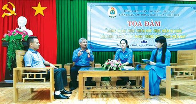 Thừa Thiên - Huế: Tọa đàm thực hiện Di chúc của Chủ tịch Hồ Chí Minh - Ảnh 1.