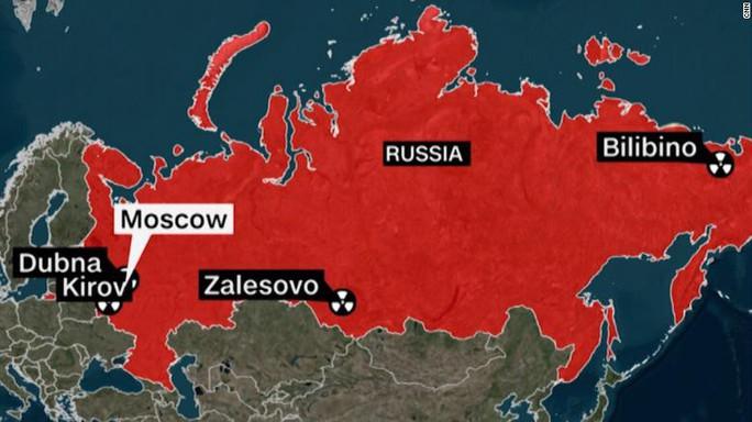 4 trạm giám sát hạt nhân của Nga im ắng một cách bí ẩn - Ảnh 1.