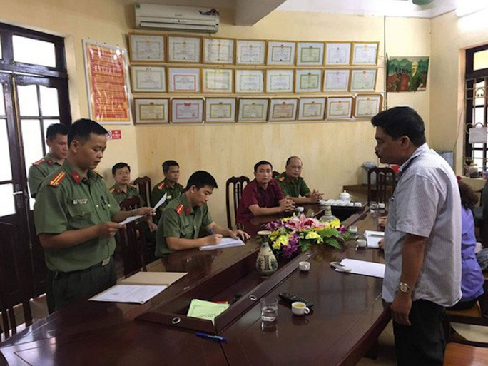 Vụ gian lận điểm thi ở Hà Giang: Truy tố 5 bị can - Ảnh 1.