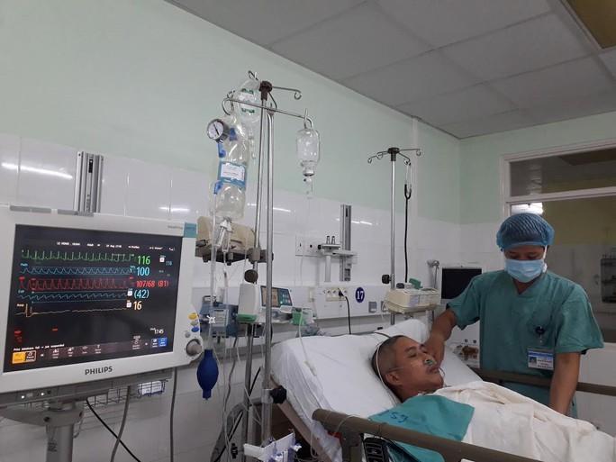 Bệnh nhân sau ghép tim xuyên việt, chưa tới 24 giờ sức khỏe đã ổn định - Ảnh 2.