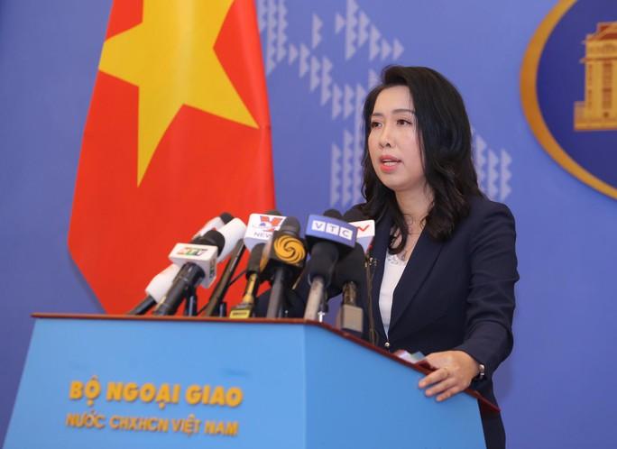 Việt Nam phản bác phát biểu của người phát ngôn Bộ Ngoại giao Trung Quốc về hoạt động tàu Hải Dương 8 - Ảnh 2.