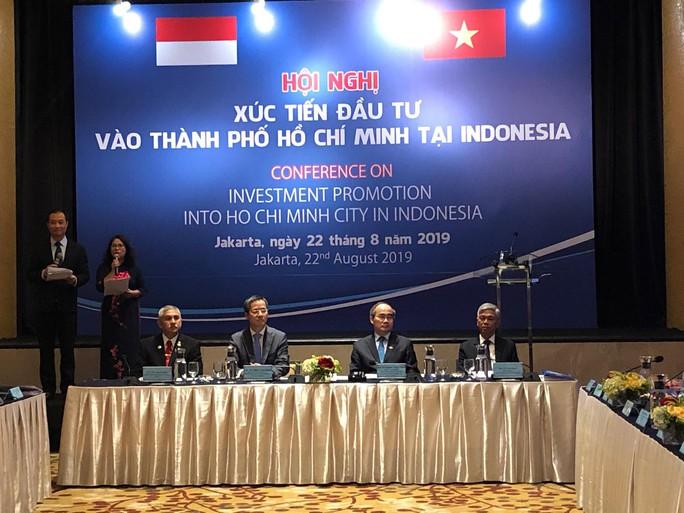 Xúc tiến đầu tư vào TP HCM tại Indonesia - Ảnh 1.