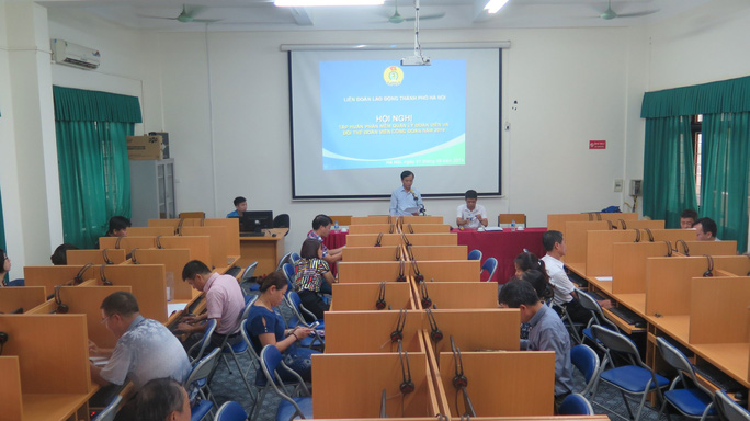 Hà Nội: Tập huấn sử dụng phần mềm quản lý đoàn viên - Ảnh 1.