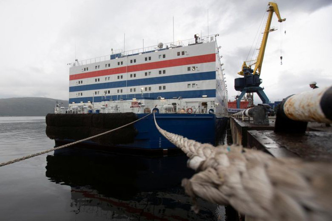 Nga đặt lò phản ứng hạt nhân nổi ở Bắc Cực bất chấp cảnh báo - Ảnh 1.