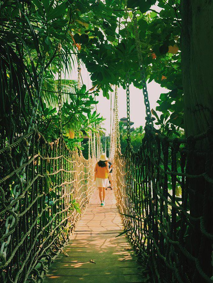 Từ mưa trong nhà đến nấc thang lên thiên đường, ra mà xem Singapore ngát xanh này! - Ảnh 18.