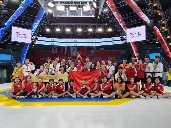 Châu Tuyết Vân giúp Taekwondo Việt Nam đứng thứ 3 tại World Cup 2019 - Ảnh 2.