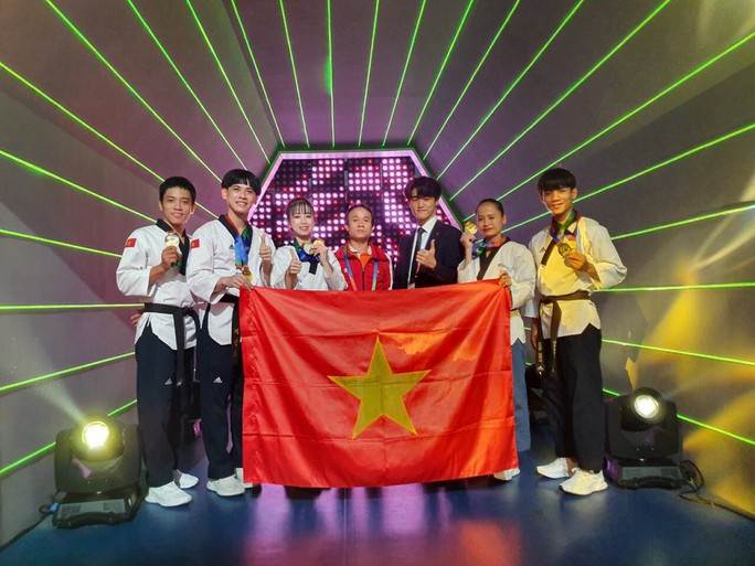 Châu Tuyết Vân giúp Taekwondo Việt Nam đứng thứ 3 tại World Cup 2019 - Ảnh 1.