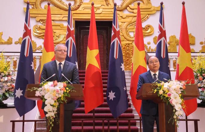 Thủ tướng Việt Nam - Úc quan ngại sâu sắc trước các diễn biến trên Biển Đông - Ảnh 1.