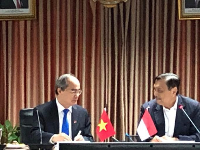 Bí thư Nguyễn Thiện Nhân đề xuất kết nối hàng không, hàng hải  Việt Nam - Indonesia - Ảnh 2.