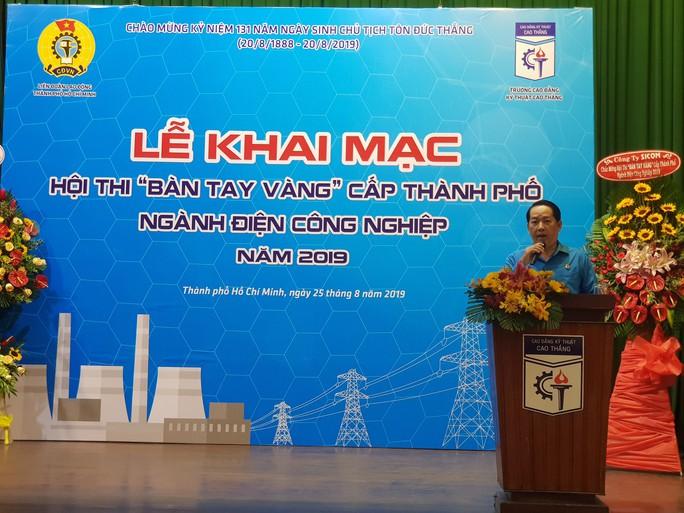 Khai mạc Hội thi Bàn tay vàng điện công nghiệp cấp thành phố - Ảnh 1.