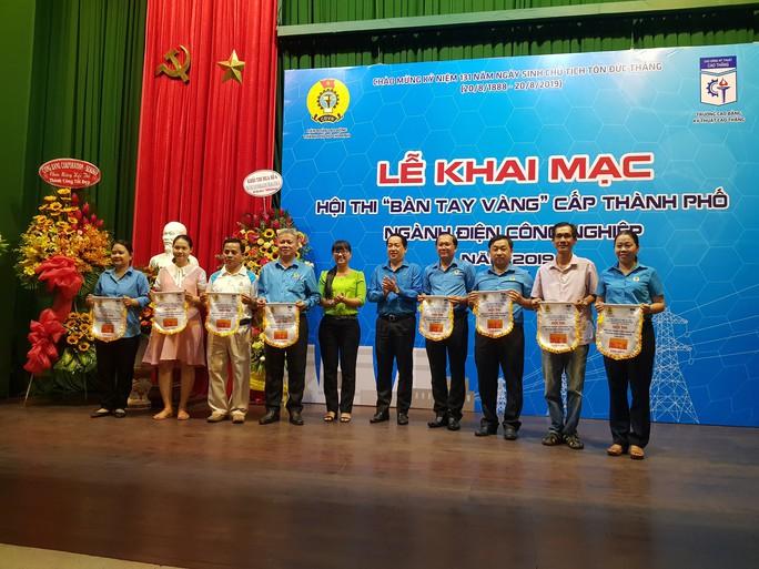 Khai mạc Hội thi Bàn tay vàng điện công nghiệp cấp thành phố - Ảnh 2.
