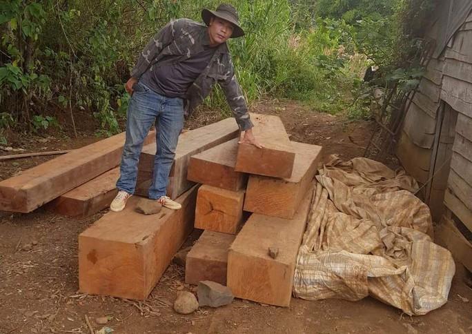 Điều công an khác địa bàn bắt gỗ lậu: Đột kích 5 điểm, thu thêm 230 m3 gỗ - Ảnh 6.