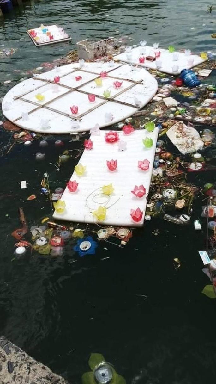 Ầm ĩ vụ việc 30.000 hoa đăng thả xuống vịnh Lan Hạ gây ô nhiễm - Ảnh 5.