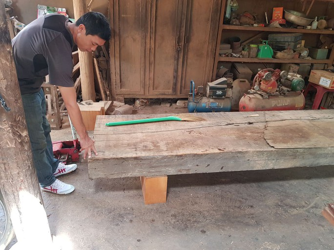 Điều công an khác địa bàn bắt gỗ lậu: Đột kích 5 điểm, thu thêm 230 m3 gỗ - Ảnh 8.