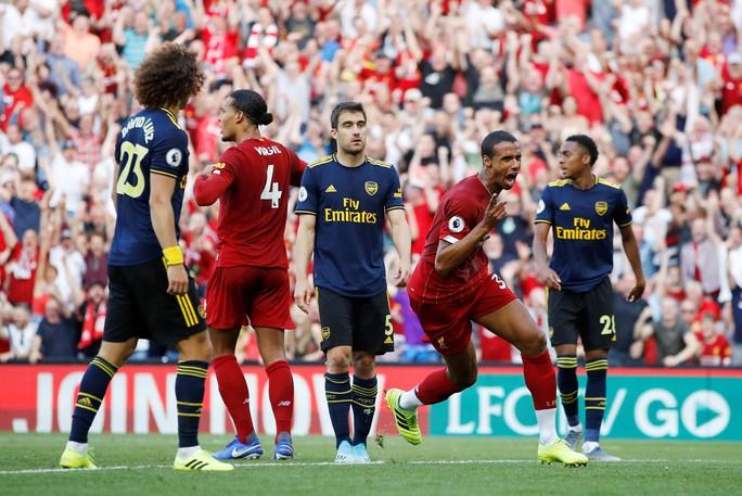 David Luiz phá Arsenal, Liverpool thắng tưng bừng ở Anfield - Ảnh 4.