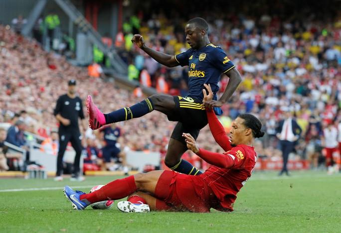 David Luiz phá Arsenal, Liverpool thắng tưng bừng ở Anfield - Ảnh 3.