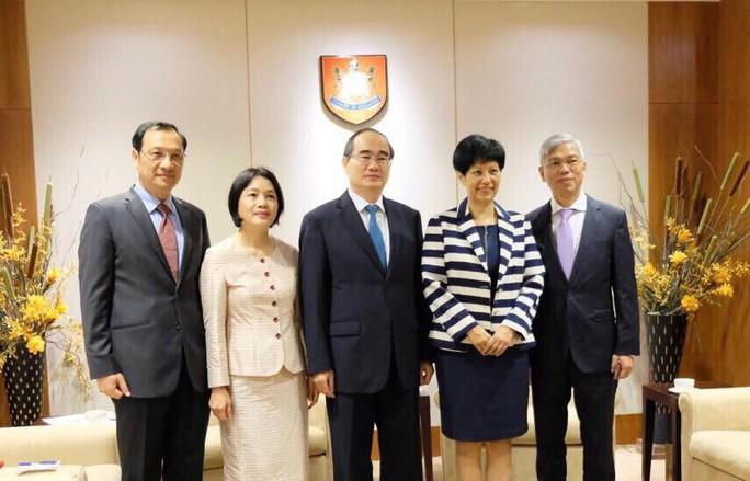 Bí thư Nguyễn Thiện Nhân đề xuất nhiều đầu việc để hợp tác giáo dục với Singapore - Ảnh 1.