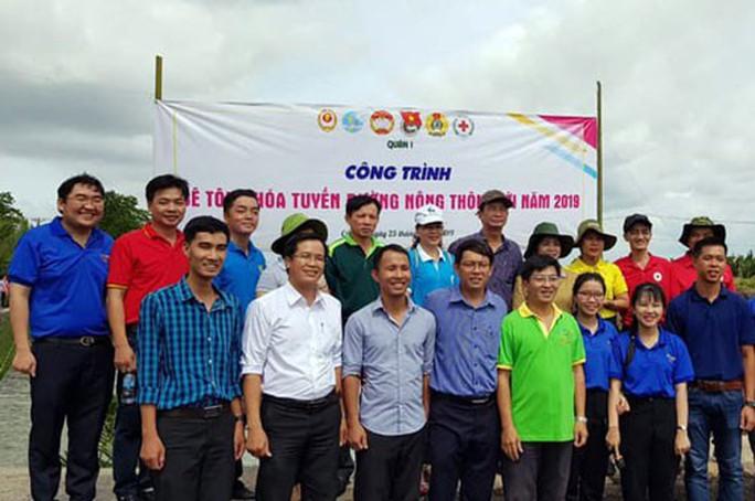 TP HCM: Gần 400 triệu đồng hỗ trợ xây dựng nông thôn mới ở Cần Giờ - Ảnh 1.