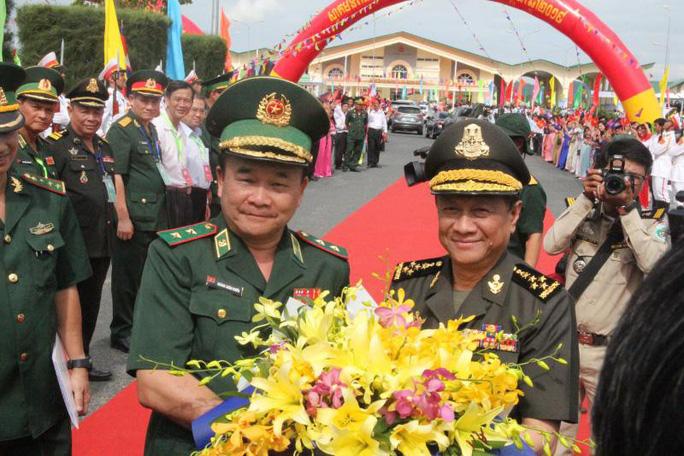 Thắt chặt tình đoàn kết Việt Nam - Campuchia - Ảnh 1.