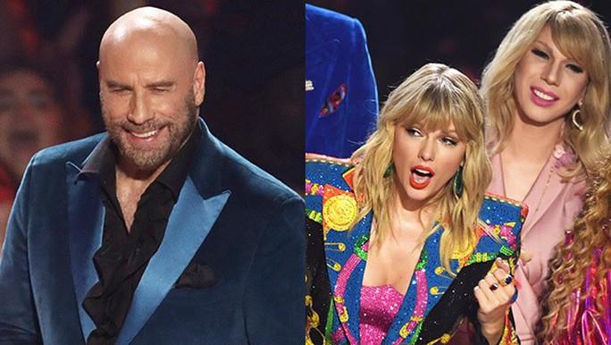 John Travolta nhầm Taylor Swift với nghệ sĩ giả gái - Ảnh 6.