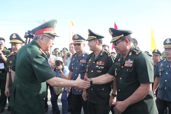 Trang trọng Lễ chào cột mốc chủ quyền biên giới Việt Nam - Campuchia - Ảnh 3.