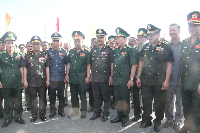 Trang trọng Lễ chào cột mốc chủ quyền biên giới Việt Nam - Campuchia - Ảnh 4.