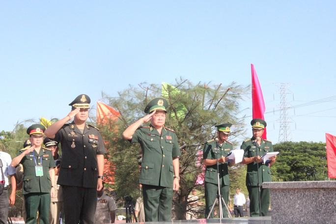 Trang trọng Lễ chào cột mốc chủ quyền biên giới Việt Nam - Campuchia - Ảnh 6.