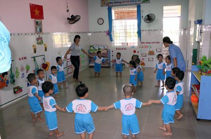Bình Dương: Phối hợp cùng doanh nghiệp xây nhà trẻ cho con công nhân - Ảnh 1.